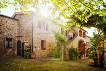 Traditional Italian Villa, Tuscany, Italy