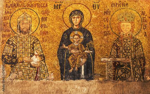 Foto op Plexiglas Wand Hagia Sophia