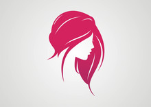Woman Hair Style Silhouette Lo...
