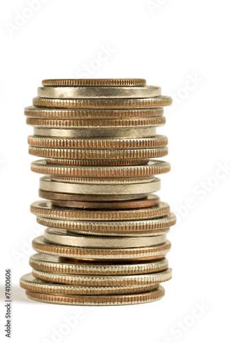 Fotografie, Obraz  Stack of Coins