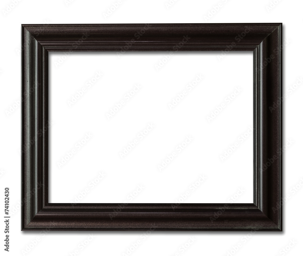 Fototapety, obrazy: wood frame photo with clipping path.