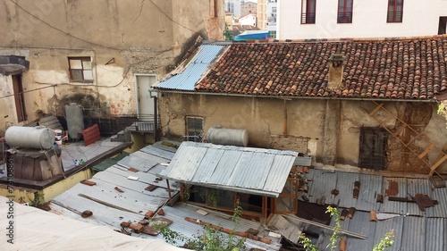 Widok z okna w hotelu w Albanii - 74106861