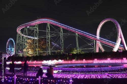 Foto op Aluminium Amusementspark イルミネーション