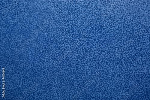 Keuken foto achterwand Leder Blue Leather Texture Background