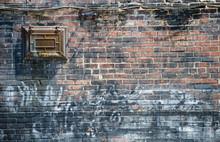 Vibrant Old Brick Wall