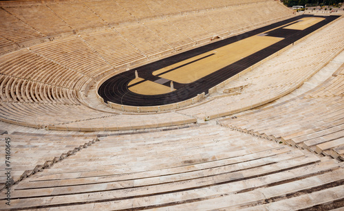 Foto op Aluminium Route 66 Close view of Panathenaic Stadium in Athens