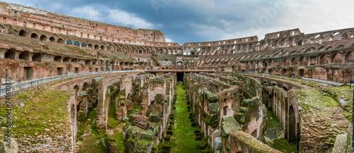 Foto op Aluminium Rome Colosseum, Rome