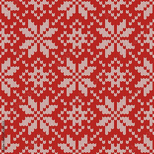 czerwono-bialy-zimowy-wzor