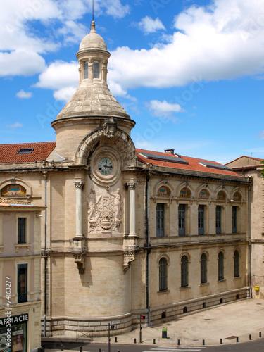 Deurstickers Artistiek mon. Lycée Alphonse Daudet à Nîmes