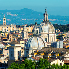Fototapeta na wymiar View of Rome