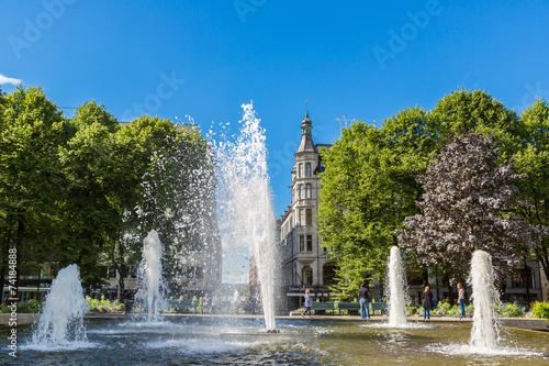 Photo  Fountain in Oslo