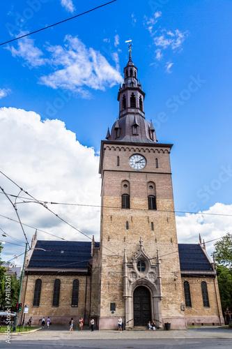Photo  Lutheran church in Oslo