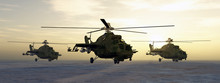 Soviet Attack Helicopters Of T...