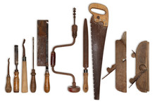 Composition Of Old Tools For W...