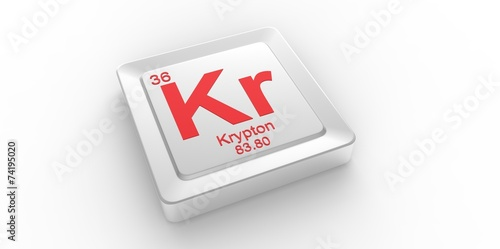 Kr Symbol 36for Krypton Chemical Element Of The Periodic Table Buy