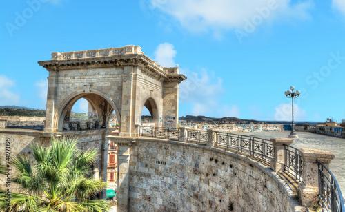 Saint Remy bastion under a blue sky