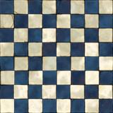 dachówka niebieski biały bez szwu niebieski biały szary bez szwu - 74200035