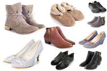 Group Of Shoes