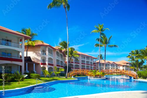 Fotografie, Obraz  Tropical resort.