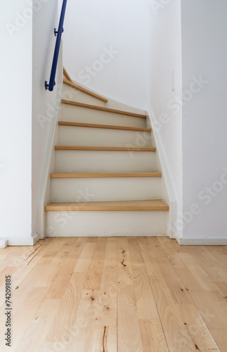 Photo Stands Stairs Modern stair of wood