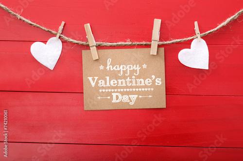 Fotografie, Obraz  Happy Valentine's Day!