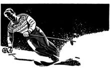 Stylish Skier