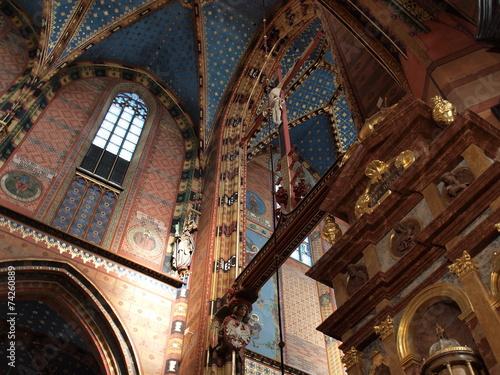 Canvas Prints Krakow Marienkirche in Krakau