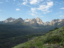 Sawtooth Range In Idaho