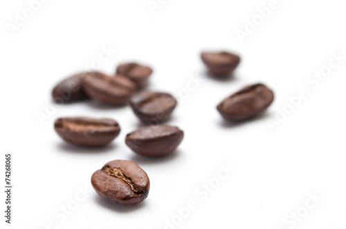 Staande foto Koffiebonen café