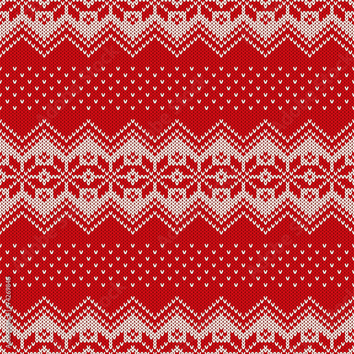 35977594e Christmas Sweater Design. Seamless Pattern - Buy this stock vector ...