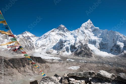 Wall Murals Nepal Mt. Everest from Kala Pala Patthar, Nepal
