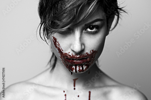 modella cannibale Poster
