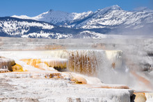 Mammoth Hot Springs, Yellowstone National Park (USA)