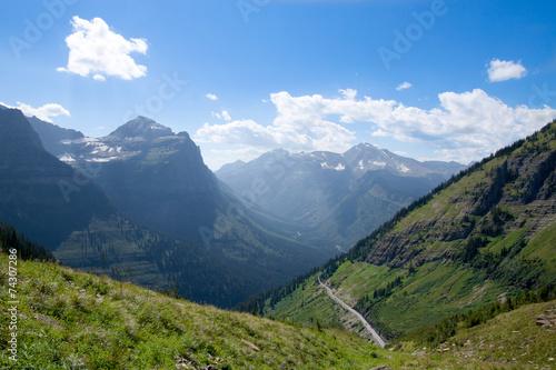 Valokuva  MT-Glacier National Park-Highline Trail
