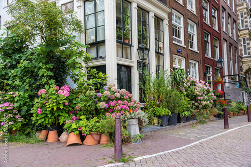 Photo  Beautiful house in Amsterdam