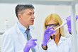 two people working in the laboratory