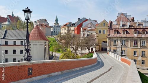 Obraz Brama Grodzka w Lublinie - fototapety do salonu