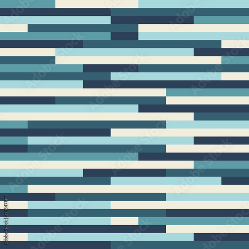 Fotografie, Obraz  A blue vector geometric pattern background