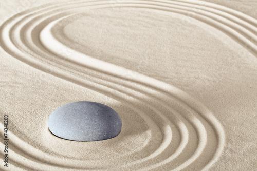 Foto op Plexiglas Stenen in het Zand spa tratment background