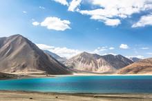 Stunning Pangong Lake In Ladakh