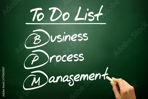 Business process management (BPM) in To Do List - Buy this