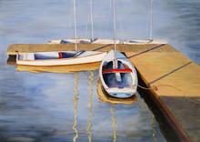 Dinghies At Port Edgar, Firth ...
