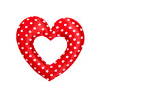 Fabric Heart Shape