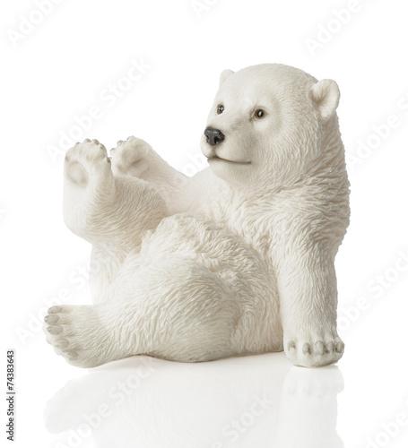 Recess Fitting Polar bear Polar Bear Figure