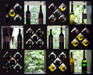 FototapetaWine collection