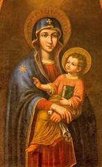 Plakat Seville - Madonna in Iglesia de Santa Maria Magdalena