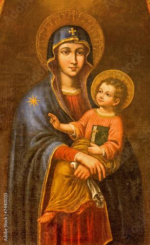 Seville - Madonna in Iglesia de Santa Maria Magdalena - 74401035