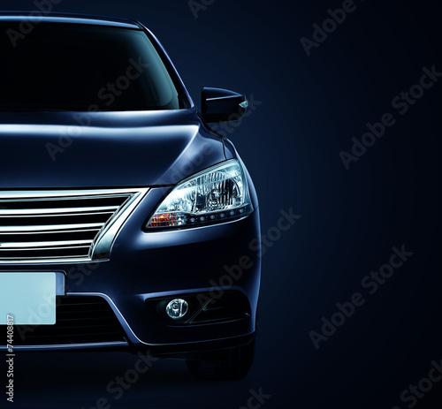Obraz modern car closeup - fototapety do salonu