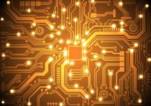 Circuit Board Vector Background Vector Illustration