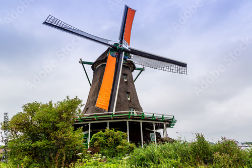 Aluminium Prints Mills Wind mills in Holland